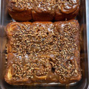 Caramel Rolls - half dozen